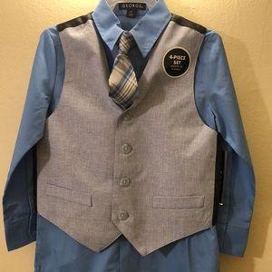 Brand new! Boys suit/vest set.